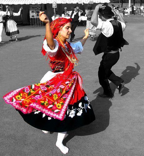 Célèbre de danse portugaise HU86