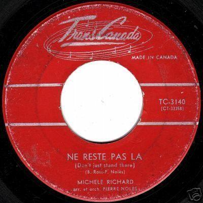 Paroles des chansons chantées par Michèle Richard